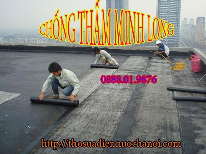 Thợ chống thấm dột tại quận Hoàn Kiếm - Liên hệ: 0888.01.9876