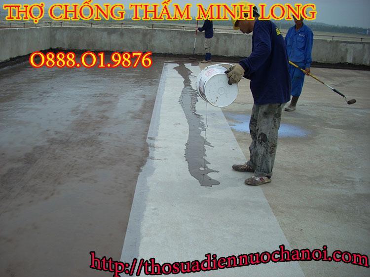 Thợ chống thấm dột tại quận Cầu Giấy - Liên hệ: 0888.01.9876