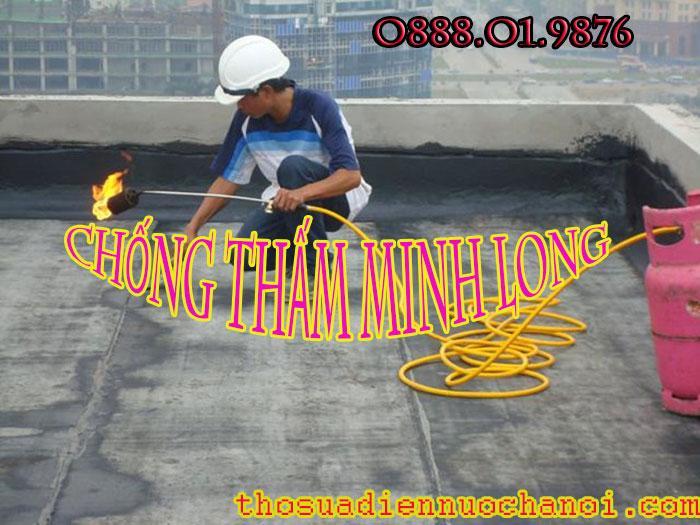 Tìm thợ chống thấm dột tại quận Hoàng Mai: 0938268345
